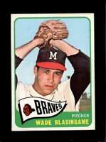 1965 TOPPS #44 WADE BLASINGAME EX (RC) BRAVES NICELY CENTERED  *XR22827