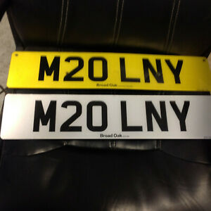 PRIVATE NUMBER PLATES ON RETENTION    M20LNY    ?????? MELONY ?????