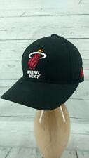 Adidas NBA MIAMI HEAT TEAM Adjustable CAP HAT BLACK