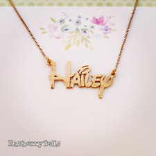 Disney Collectible / Name Necklace / Disney collection / Order Any Name!