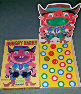 HUNGRY HARRY - VINTAGE 1975 SPEARS 'FAIRGROUND' GAME