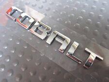 OEM Chevy Chevrolet Sedan Coupe Cobalt Rear Chrome Trunk Lid Emblem Sign Badge
