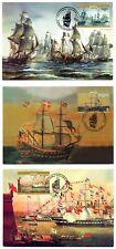 Malta 2006 Max Maximum Cards Vessels / Maritime Set of 3 Cards No. 14 - 16
