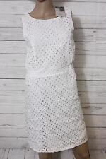 ICHI Damen Etui Kleid Mini Gr. 38 weiß