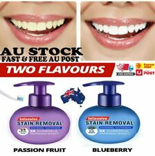 Instant Clean Intensive Stain Removal Whitening Toothpaste Fight Bleeding Gums~W