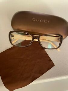 Gucci glasses frames women - brown, classic style