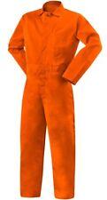 Large Coveralls Flame Resist 9oz Safety Orange Steiner Welding Jumpsuit 1045 L