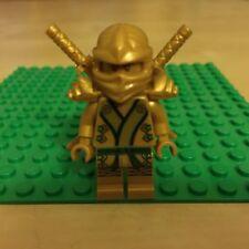 NEW LEGO NINJAGO GOLDEN NINJA MINIFIG MINIFIGURE GOLD LLOYD FIGURE