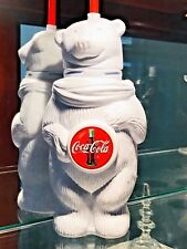 Coca Cola Always Polar Bear Drinking Container with Straw - Excellent Condition