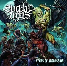 - Years of Aggression SUICIDAL ANGELS  cd ( ltd edition diji)