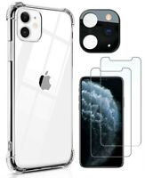 For Apple iPhone 11 Pro Max SE XR XS 8 7 6 Plus Clear Case Slim Cover Shockproof