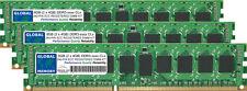 12GB 3x4GB DDR3 800/1066/1333MHz 240-PIN ECC Registrada RDIMM SERVIDOR RAM 6R NC