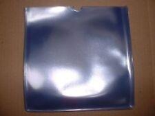 "25 x 7"" VINYL 600gauge STRONG PVC COVERS Glass Clear / Orange Peel effect finish"