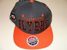 Philadelphia Flyers Zephyr Gray Superstar Snapback Hat Cap NHL Hockey Adjustable