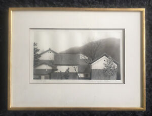 "TANAKA RYOHEI 1933-2019 ""White Wall House"" ETCHING artist proof 2/12 signed"