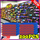 Blue 7.3cm 200PCS Refill Bullet Darts for Nerf toy Gun N-strike Elite Series P