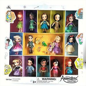 Disney 2020 Animators' Collection 5 in Mini Doll Gift Set 14 Dolls