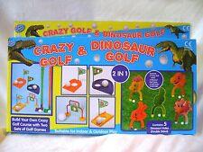 NEW TOY CRAZY GOLF AND DINOSAUR GOLF CHILDREN'S GARDEN PLAY SET PADG 8388