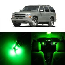 18 x Green LED Interior Light Kit For 2000 - 2006 Chevy Chevrolet Tahoe + TOOL