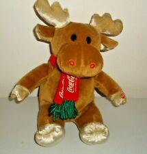 Singing Coca-Cola Reindeer Christmas  Plush McDonald's 2001