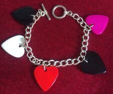 Retro, Vintage, Heart Bracelet.