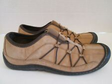 Clark's Springers Womens Sz 7.5 Brown Active Walking Nubuck Oxford Shoes