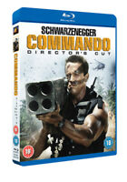 Commando: Director's Cut DVD (2015) Arnold Schwarzenegger, Lester (DIR) cert 18