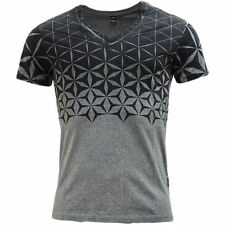Replay Cotton V Neck T-Shirts for Men