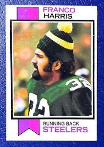 1973 TOPPS FOOTBALL #89 FRANCO HARRIS ROOKIE CARD (RC)🔥Pittsburg Steelers🔥