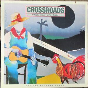 Crossroads White Blues In The 1960's - 2 Cassette Box Set 1984 Elektra w Booklet
