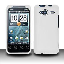 Hard Rubberized Case for Evo Shift 4G - White