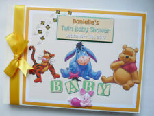 DISNEYWINNIE THE POOH AND FRIENDS UNISEX BIRTHDAY / BABY SHOWER GUEST BOOK