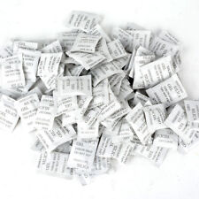 100pcs 1g Silica Gel Packets Desiccant Moisture Absorber Sachets Pack  Non toxic