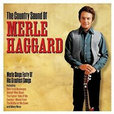 Country Sound Of - 2 DISC SET - Merle Haggard (2017, CD NEUF)