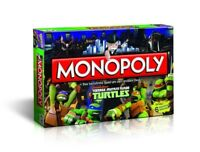 Original Monopoly - Teenage Mutant Ninja Turtles Spiel Brettspiel NEU & OVP