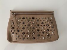 Authentic JIMMY CHOO Zena Star Studded Bag Clutch