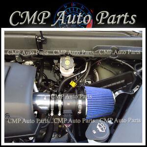 BLACK & BLUE 2007-2011 GMC ACADIA DENALI SL SLE SLT 3.6 3.6L V6 AIR INTAKE KIT
