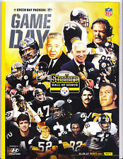 Pittsburgh Steelers GreenBay Packers Gameday Program Rooney Lambert Bettis Swann