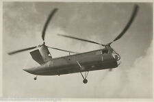 Postcard 1129 - Aircraft/Aviation Real Photo Piasecki XHJP-I Helicopter