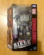 Transformers Hasbro War for Cybertron Siege Voyager Soundwave