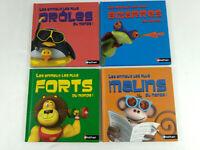 Integrale 4 livres enfants  Les animaux les plus  Nathan McDo  Envoi suivi
