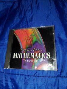 PRO ONE Mathematics Platinum Edition Calculus [CD-ROM]