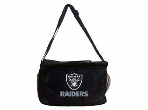 Adjustable Oakland Raiders Kolder Bag Insulated Lining Shoulder Strap Tote Bag