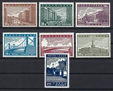 RUSSIA 1939 New Moscow: SG838-844, Z566-572, Sc706-712 MNH OG, Zag CV$310 (197)