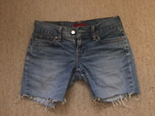Vintage Womens Levis Denim Shorts SIZE 10 CUT OFFS 'EVE'