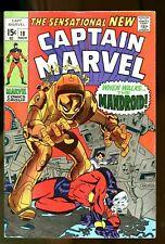 Captain Marvel #18, FN+ 6.5, Carol Danvers Gets Her Powers