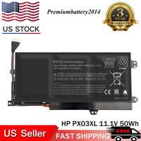PX03XL Battery For HP Envy TouchSmart 14-k111nr 14-k112nr 14-k112tx TPN-C111 US