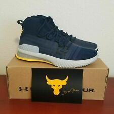 Under Armour Project Rock 1 Shoes Navy/Marine Blue 3020788-403 Mens Size 11 & 12