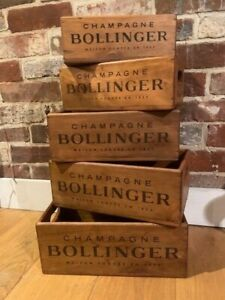 Rustic Wooden boxes ( Bollinger)