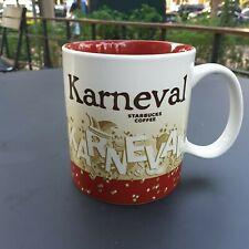 Original Starbucks City Mug 16 oz Global icon KARNEVAL V.2, GERMANY Series 2016